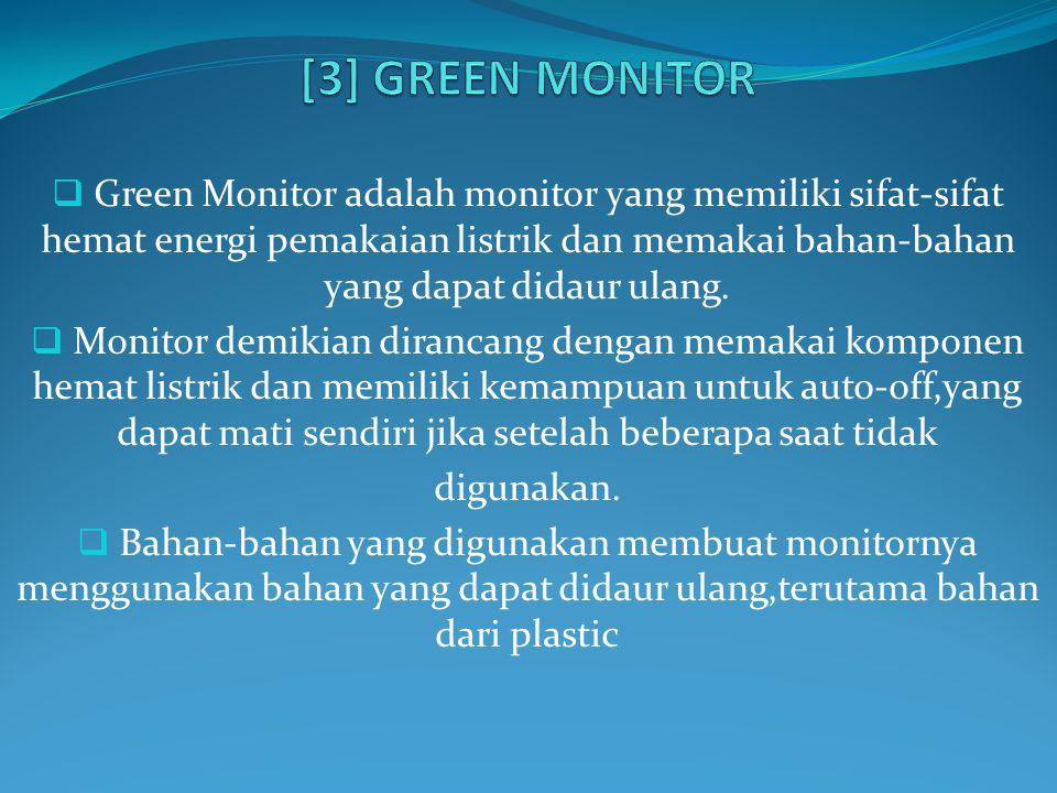 [3] GREEN MONITOR